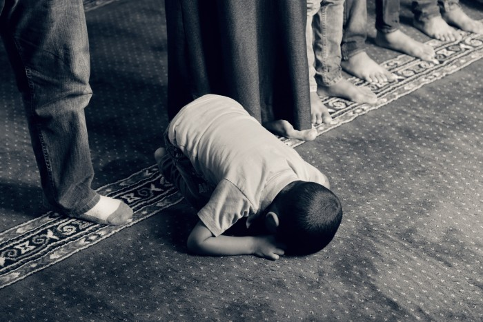 Praying Faith Islam Religious Prayer Muslim Kid